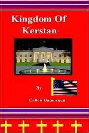 Cover of: Kingdom Of Kerstan | Callen Damornen