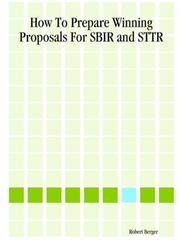 Cover of: How To Prepare Winning Proposals For Sbir And Sttr