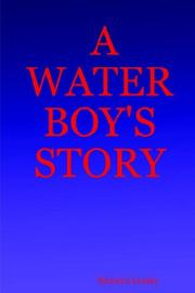Cover of: A WATER BOY