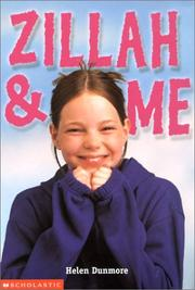 Cover of: Zillah and Me