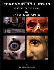 Cover of: Forensic Sculpting Step by Step in Photographs | Seth Wolfson