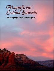 Cover of: Magnificent Sedona Sunsets | Joel Gilgoff