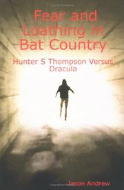 Cover of: Fear and Loathing in Bat Country