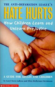 Cover of: Hate Hurts | Anti-Defamation League