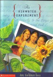 Cover of: Tha Ashwater Experiment