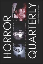Cover of: HORROR QUARTERLY