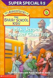 Cover of: Mrs. Jeepers' Monster Class Trip