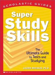 Cover of: Super Study Skills
