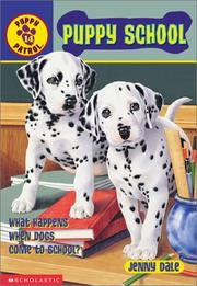 Cover of: Puppy school | Jenny Dale