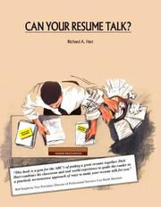 Cover of: Can Your Resume Talk?