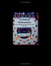 Cover of: Technical Mathematics | Srini V. Vasan