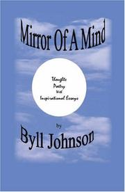 Cover of: Mirror of a Mind | Byll Johnson