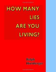Cover of: How Many Lies Are You Living | Ralph Hornberger