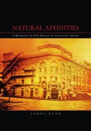 Cover of: Natural Affinities