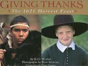 Cover of: Giving Thanks