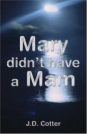 Cover of: Mary Didn