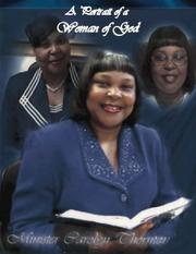 Cover of: A Portrait of A Woman of God | Carolyn Thornton