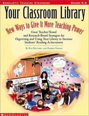 Cover of: Your classroom library | D. Ray Reutzel