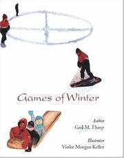 Cover of: Games of Winter | Gail M. Tharp