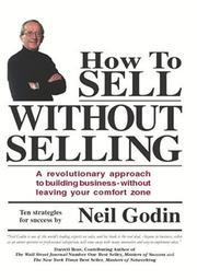 Cover of: How To Sell Without Selling | Neil Godin