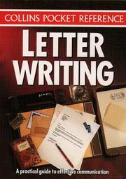 Cover of: Letter Writing (Collins Pocket Reference) | Louise Bostock Lang