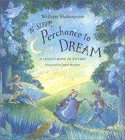 Cover of: To sleep, perchance to dream: a child's book of rhymes