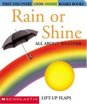 Cover of: Rain or Shine | Danielle Denega