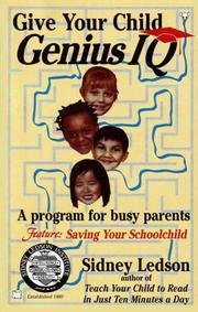 Cover of: Give Your Child Genius IQ