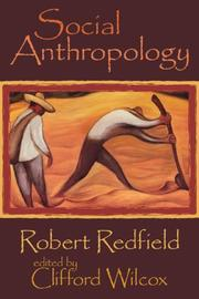 Cover of: Social Anthropology