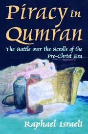 Piracy in Qumran by Raphael Israeli