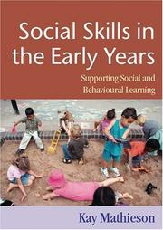 Cover of: Social Skills in the Early Years