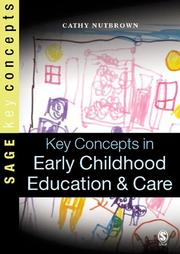 Cover of: Key Concepts in Early Childhood Education and Care