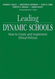 Cover of: Leading dynamic schools