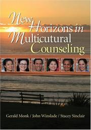 Cover of: New horizons in multicultural counseling