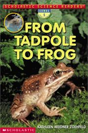 Cover of: From Tadpole to Frog