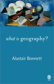 Cover of: What is Geography?
