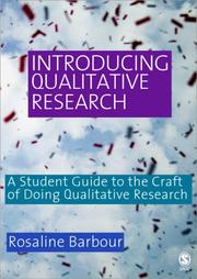 Cover of: Introducing Qualitative Research | Rosaline Barbour