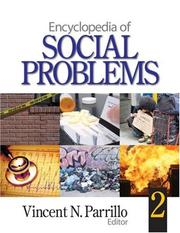 Cover of: Encyclopedia of Social Problems | Vincent N. Parrillo