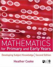 Cover of: Mathematics for Primary and Early Years | Heather Cooke