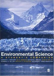 Cover of: Environmental sciences |