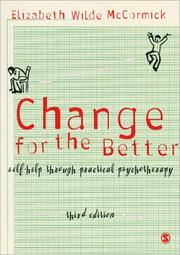 Cover of: Change for the Better | Elizabeth Wilde McCormick