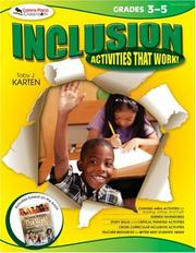 Cover of: Inclusion Activities That Work! Grades 3-5