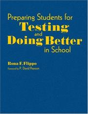 Cover of: Preparing Students for Testing and Doing Better in School | Rona F. Flippo