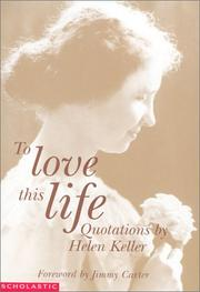 Cover of: To Love This Life