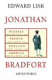Cover of: Adventures Of Jonathan Bradfort