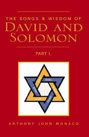 Cover of: The Songs & Wisdom of David and Solomon