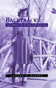 Cover of: Backtracks | Larene Blaine