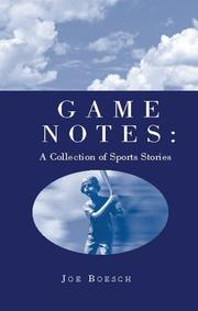 Cover of: Game Notes
