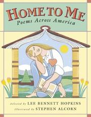 Cover of: Home to me | Lee Bennett Hopkins