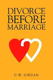 Cover of: Divorce Before Marriage